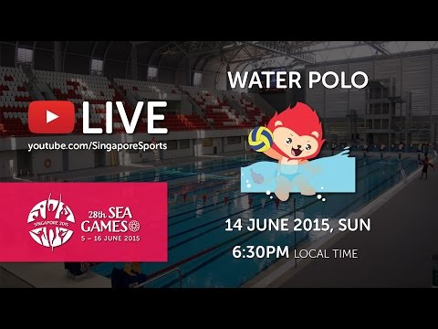 Waterpolo Men Thailand vs Indonesia | 28th SEA Games Singapore 2015