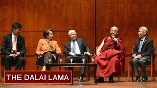 Dalai Lama Opens Senate Session With Prayer   3/6/14