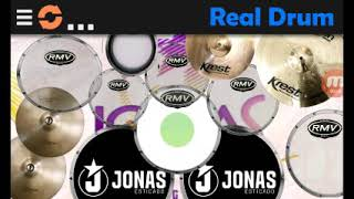 Saiu nova Real drum do Jonas esticado,passando som