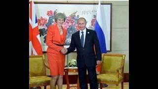 Песков прокомментировал ситуацию с рукопожатием Путин и Мэй на G20