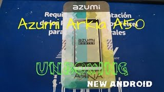 #1-Unboxing Azumi Arkia A50 | New Android