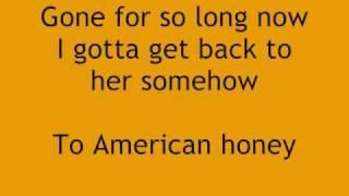 "Lady Antebellum, ""American Honey"" w/ Lyrics"