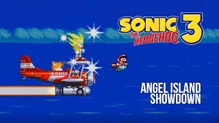 Sonic vs. Mario - Angel Island Showdown