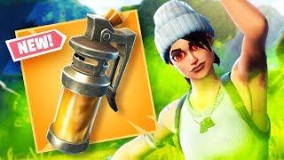New STINK BOMB Fortnite Gameplay