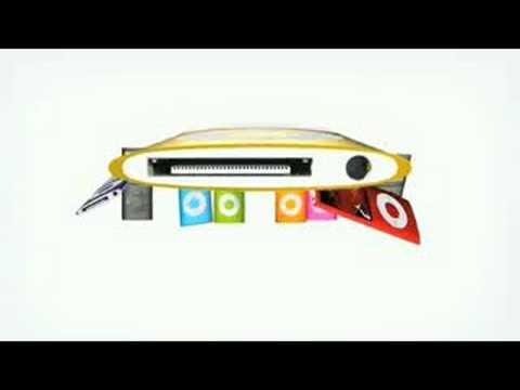 """Apple IPod Nano """"Nano Chromatic"""" Commercial"""