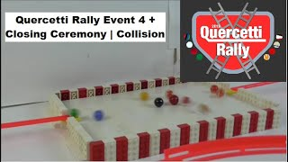 Quercetti Rally Event 4 + Closing Ceremony | Collision | Marbles for Autism | Marble Race
