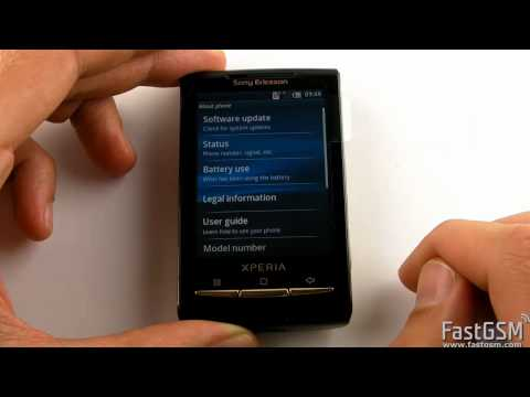 Unlock Sony Ericsson Xperia X8. X10. X10 mini. X10 mini and SO-01B pro by USB