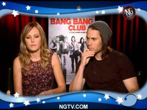 Malin Akerman & Taylor Kitsch on The Bang Bang Club