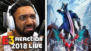 DEVIL MAY CRY 5 LIVE REACTION! - XBOX [E3 2018]