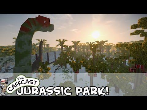 Minecraft Jurassic World Origins (Jurassic Park) Scientists With GUNS! #2 (Minecraft Roleplay)