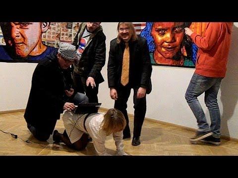 Выставка PETERBURI UUE KUNSTI в Пярну