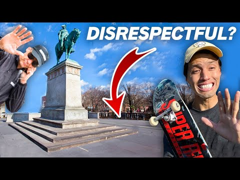 NON SKATERS Are Angry About This NYC Skate Spot