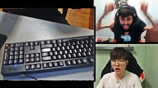 YASSUO SMASHES HIS KEYBOARD AFTER THIS   FAKER GOT BETRAYED BY HIS TEAMMATE   TF BLADE   LOL MOMENTS