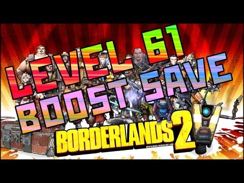 Game | Borderlands 2 NEW Level 61 Boosting Save【XBOX PC PS3】 | Borderlands 2 NEW Level 61 Boosting Save【XBOX PC PS3】
