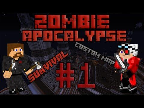 Minecraft Zombie Apocalypse #1 - Нашествие зомби