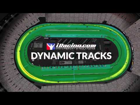 Dynamic Tracks. Now on iRacing.