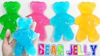วิธีทำวุ้นหมีแฟนซี - How to Make Color Bears Jelly | วุ้นแฟนซี
