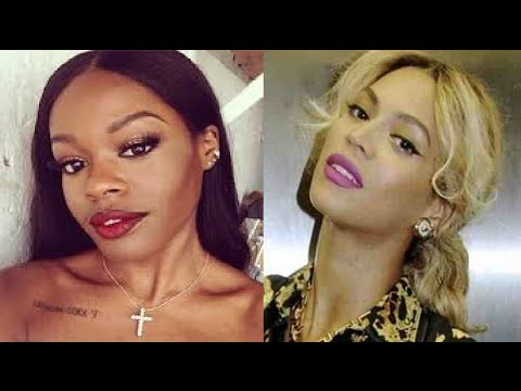 "Azealia Banks & Beyonce Beef, ""Beyonce should stay under Jay Z foot"""