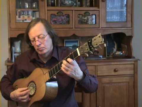 Gaspar Sanz - Canarios - Baroque guitar