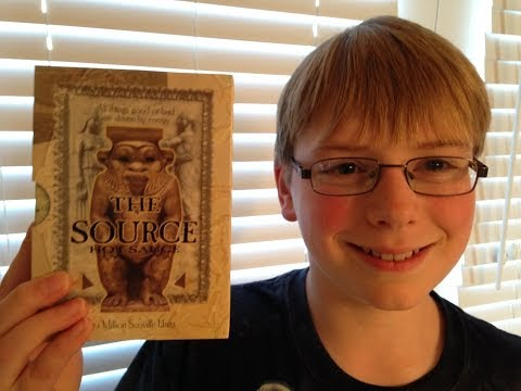 11-yr-old eats The Source (7.1 million Scoville)! : Hot Sauce Review. Crude Brothers