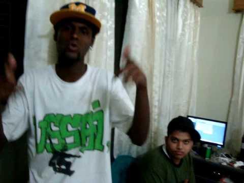 Uptown Lokolz, Reppin Bangla Rap video
