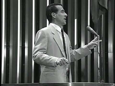 DRAMATIZA��O DO DISCURSO DO DEP. MARIO COVAS NO DIA 12.12.1968, �S V�SPERAS DO AI-5