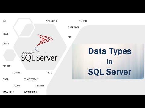 Data Types in SQL Server