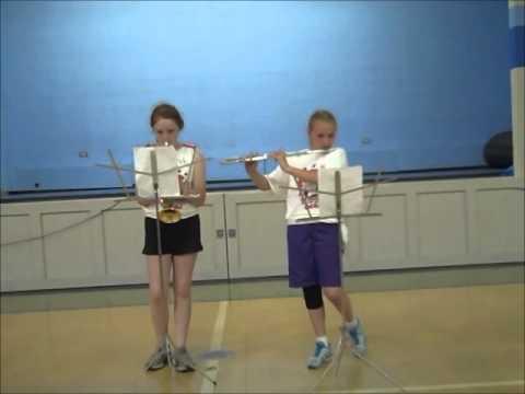 14   Maura and Michaela Trumpet   Flute Duet
