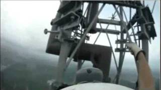 Tall Communications Towers-The scariest video you have ever watched in the name of science