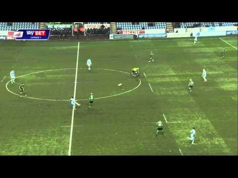 Coventry City v Scunthorpe highlights