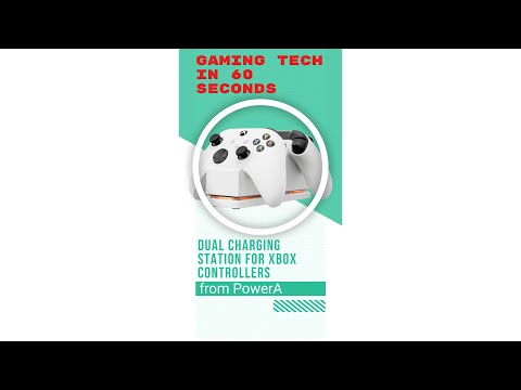 PowerA Dual Charging Station for Xbox One & Series X   Gaming Tech in 60 secs #Shorts
