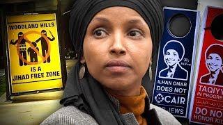 Amanda Head: Street Artist Sabo Highlights Ilhan Omar's Antisemitism