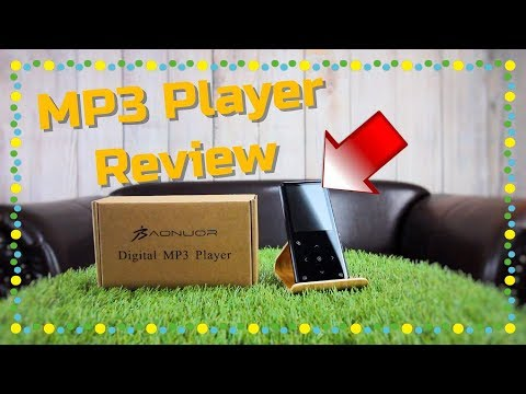 MP3 PLAYER MIT DISPLAY UND LAUTSPRECHER TEST REVIEW DEUTSCH