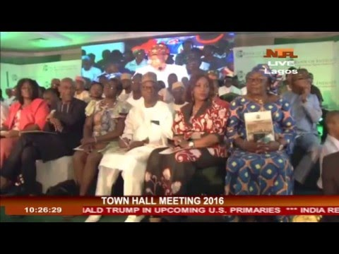 Watch 1st FGN Town Hall Meeting Held In Lagos 25-04-2016