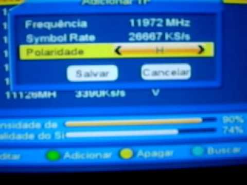 AZAMERICA S810B COMO ADICIONAR MAIS CANAIS EM SUA TP