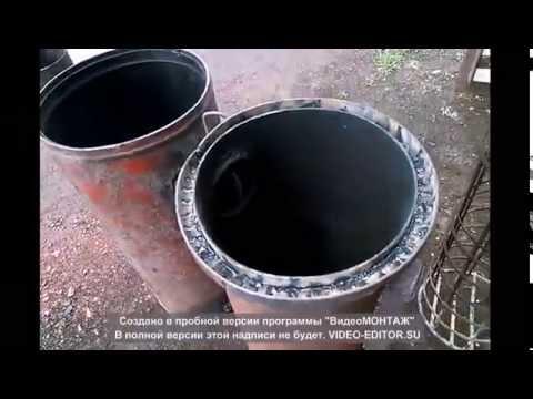 Бункерная ракета печь