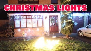 Christmas Outside Lights At Home 2018 | Toys Fun Fam