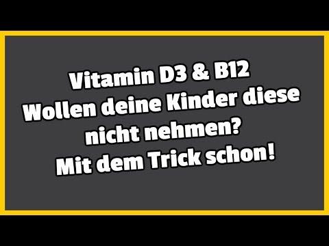 Vitamin D3 & B12 I Wollen deine Kinder diese nicht nehmen? Mit dem Trick schon!