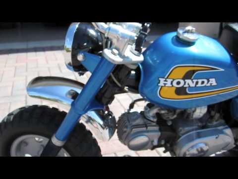 Bobby Rahal Acura on All Original 1974 Honda Z50 K5