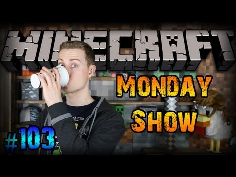 Minecon 2013 and COFFEE! - Minecraft Monday Show: 103