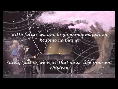 Orange - Shigatsu wa kimi no uso OST Ending 2 W/Music [Eng/Rom]