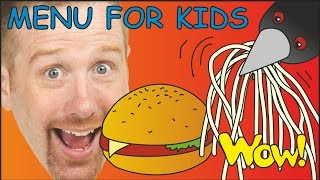Crazy Magic Menu for Kids | English Stories from Steve and Maggie | Wow English TV