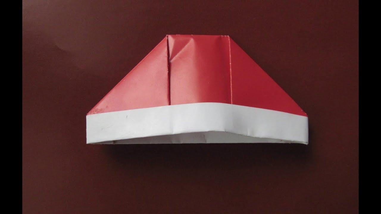 Как сделать из бумаги шапку картинки