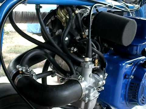 Turbocharged Minibike That Pumps Out 5 7lbs Of Boost
