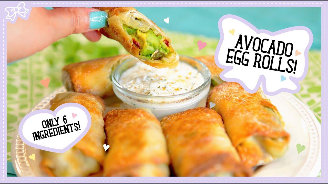 Healthy Avocado Avocado Egg Rolls Healthy