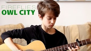 Fireflies - Owl City (Guitar Cover by Francis Carter)