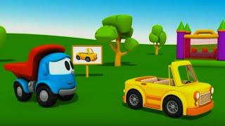 Pequeño Leo - El Coche Convertible - Camiones - Carritos para niños