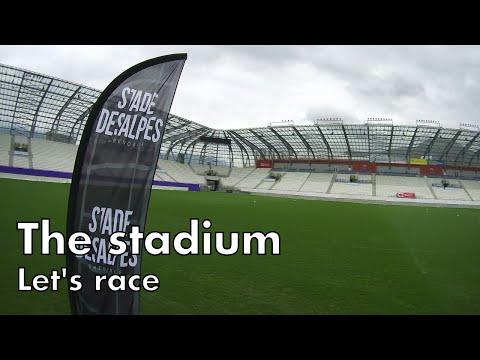 The stadium - Let's race