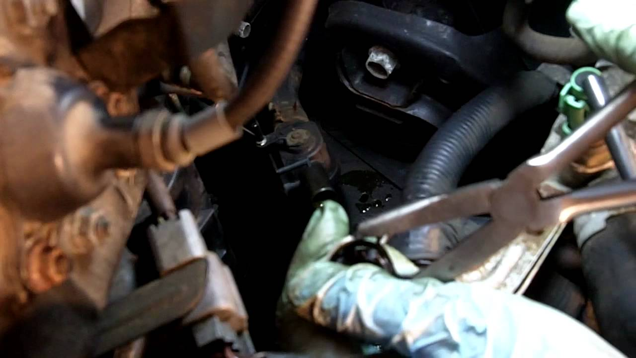 Honda Accord Heater Core Hose Replacement - YouTube
