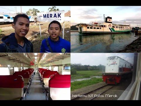 Short Trip by Krakatau Train - Ambul Naik Kereta Api dari Stasiun Paling Barat Jawa